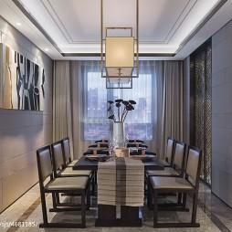 现代风格样板间餐厅设计
