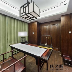 简雅中式风格书房设计