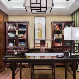 古典中式风格书房设计案例