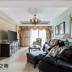 浪漫美式风格客厅设计