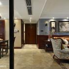 家装美式四居室过道设计