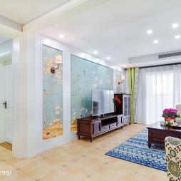 浪漫美式客厅装修案例