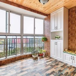 家装美式风格阳台装修