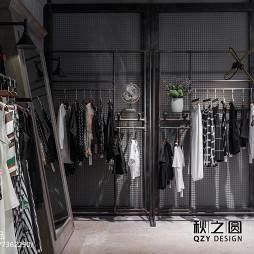 简妮·蜜服装店展示架设计