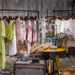 简妮·蜜服装店展示架装修