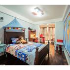 创意美式风格儿童房装修案例