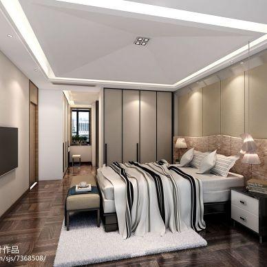 成都中州中央城邦现代风格装修设计效果图_2474695