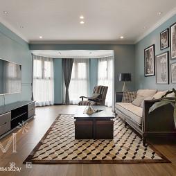 现代风格二居室客厅设计大全