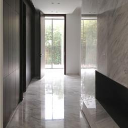 简约现代风格别墅过道设计