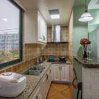 美式风格小厨房设计