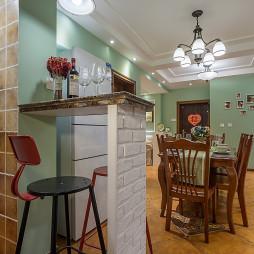 美式风格家居小吧台设计