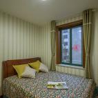 简单美式卧室装饰图