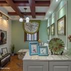 美式风格小户型客厅设计案例