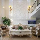 低奢欧式风格别墅客厅装修