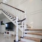 精致欧式风格楼梯效果图