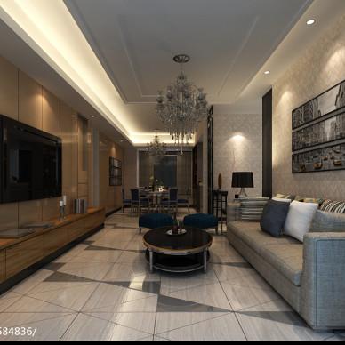 顺德区保利中环广场140平住宅设计_2482146