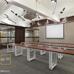 办公空间室内装修图