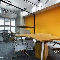 办公空间小会议室装修