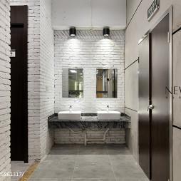 办公空间洗手间设计
