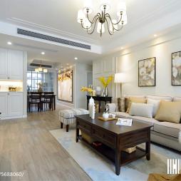 精致美式风格客厅装修