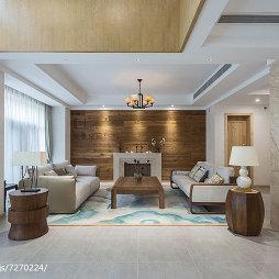 时尚中式客厅设计案例
