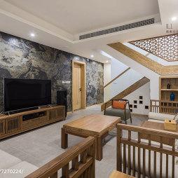 现代中式别墅地下室设计