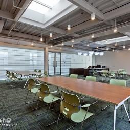 办公楼清新休息区设计