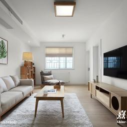 家装日式客厅设计效果图
