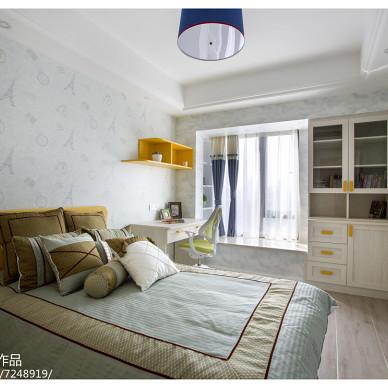精致混搭风格卧室装饰图