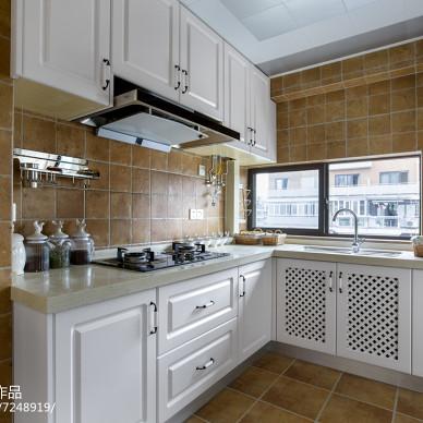 精致美式风格厨房设计案例