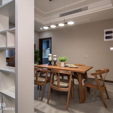 素雅简约风格餐厅设计案例