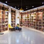 阅读主题儿童早教中心室内设计