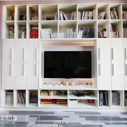 家装简约风格客厅背景墙装修