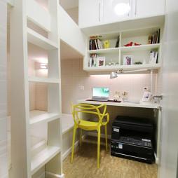 家居简约儿童房书房设计