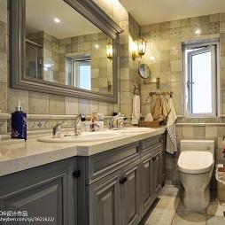 静雅新古典风格卫浴设计