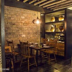 墨兰小馆中餐厅就餐区设计