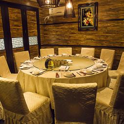 墨兰小馆中餐厅包间设计