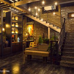 墨兰小馆中餐厅楼梯装修