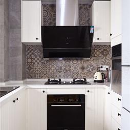 北欧格调二居室厨房设计