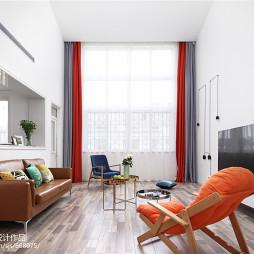 简洁美式风格客厅设计