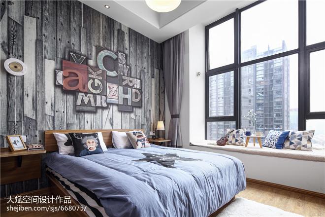 LOFT风格创意卧室布置