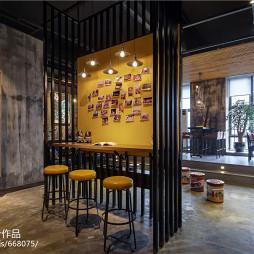 时尚LOFT风格家居吧台设计