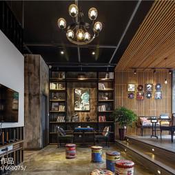 LOFT风格书房设计案例