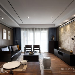 简约中式风格客厅设计