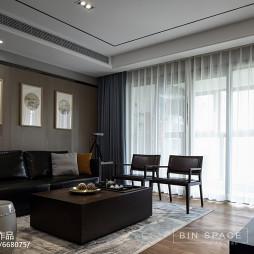 简约中式风格客厅布置