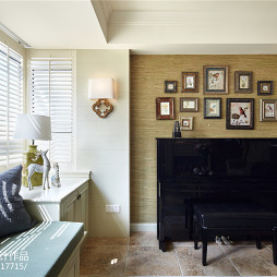 家装美式照片墙设计