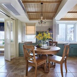 家装美式三居室餐厅设计