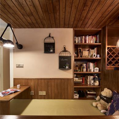 美式二居室书房装修图