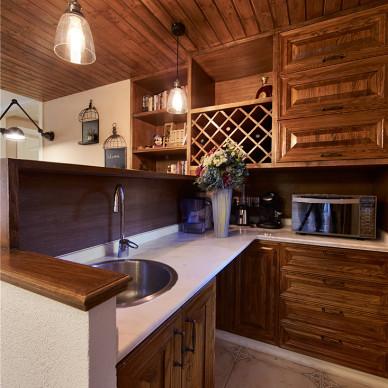 家居美式二居室厨房设计