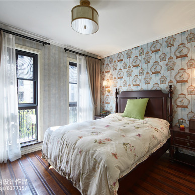 美式风情家居卧室设计
